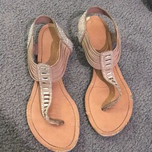 Well-loved sandals